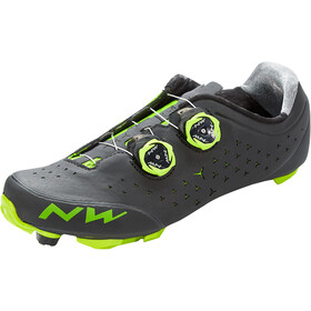Northwave Rebel 2 Schoenen Heren, black/green